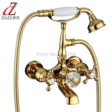 Brand New Chrome Clawfoot Bathtub Faucet With Handheld Shower 0006 ...