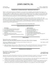 Study Abroad Coordinator Sample Resume Hr Coordinator