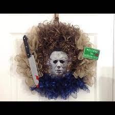Other | Michael Myers Halloween Wreath | Poshmark