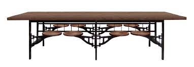 industrial kitchen table furniture. Beautiful Ideas Industrial Dining Room Tables Dana John Table One Furniture Metal Kitchen
