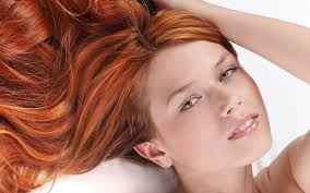 Tapety Tvář ženy Ryšavý Model Dlouhé Vlasy Otevři Pusu