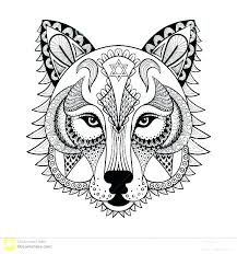Wolf Cut Out Printable Wolf Mask Template Printable Children
