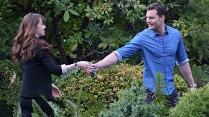 dakota johnson and jamie dornan sport wedding rings on fifty dakota johnson and jamie dornan sport wedding rings on fifty shades darker set see the bling