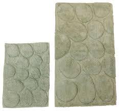 castle hill london palm bath rugs set of 2 contemporary bath mats by textile decor usa inc