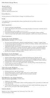 Public Relation Director Resume Public Relation Manager Resume Project Manager Resume Writer Public