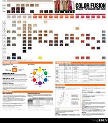 Redken Double Fusion Color Chart Color Chart Redken High Fusion Color Salon Qua In 2019