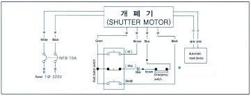 roller shutter motor wiring diagram diagram roller door motor wiring diagram electric roller shutter wiring diagram