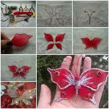 Making butterflys wire nylon