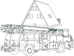 Fire Truck Coloring Pages Free Free Fire Truck Coloring Pages