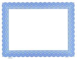 Certificate Border Word Cool Certificate Of Recognition Border Davidbodnerco
