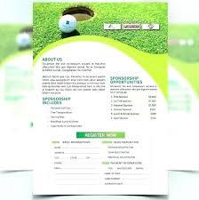 Golf Tournament Website Template