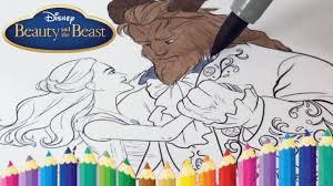 Small Picture DISNEY BEAUTY AND THE BEAST COLORING BOOK PAGES KIDS FUN ART AND