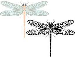 Tetování Dragonfly Vektory Z Knihovny Clipartme