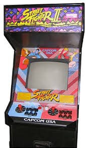street fighter ii turbo hyper fighting arcade machine from find