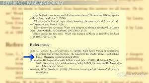 apa citation formats exles