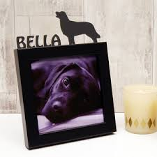 gifts for pet lovers. Personalised Dog Mini Photo Frame Gifts For Pet Lovers