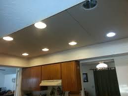 installing recessed lighting in drop ceiling