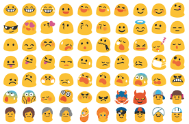 Android Emoji Conversion Chart