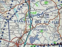 Stansted Charts England East 1 250 000 Vfr Chart Latest Edition 14 Ebay