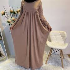 Eid hijab ready to wear it's almost few weeks and our lovely eid will be so near, of course most of us are going shopping in these days to see what's new in the stores. Buy Online Eid Stretchy Pleated Baggy Long Maxi Dress Abaya Muslim Women Fashion Solid Color Long Sleeve Hijab Dress Islam Robe Modest Wear Alitools