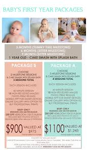 Baby First Year Photo Packages