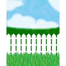 White fence Vector Backdrop Express White Picket Fence Printed Backdrop Backdrop Express