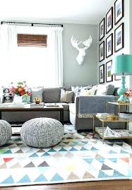 rug for gray couch grey sofa decorating ideas glamorous living room rug ideas brown cool grey
