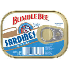 ble bee tuna and seafood s ble bee sardines in water