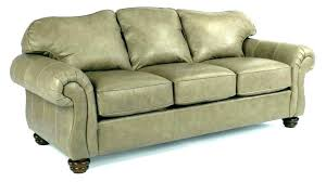 yule roll arm leather sofa rolled nail head sectional