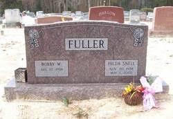 Hilda Snell Fuller (1938-2002) - Find A Grave Memorial