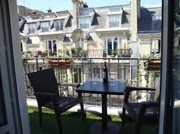 Hotel Residence Foch: Room balcony