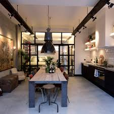 Industrial style kitchen lighting Hanging Pendant Light View In Gallery Trendir Industrial Style Kitchen Design Ideas marvelous Images