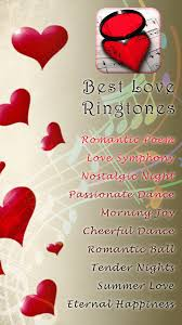 Best Love Ringtones For Android Free Download And Software Reviews Custom Bast Love Rington