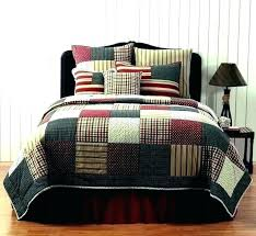 red king size quilt quilted bed sets set bedding photo 3 of 8 comforter primitive super
