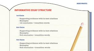 how to write an informative essay examples and topic ideas  keep in mind the structure below