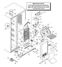 sxs ge fridge ice maker wiring diagram wiring library ge side by side refrigerator wiring diagram rate ge refrigerator rh zookastar com ge profile refrigerator