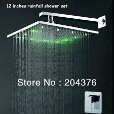 delta hydro rain 2 in 1 hydrorain 5 setting shower head chrome squre s wterfll fll fall delta hydro rain
