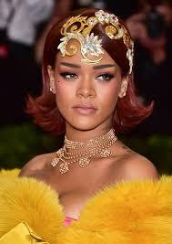 Getting Ready For The Met Gala In 2019 Riri Rihanna Makeup