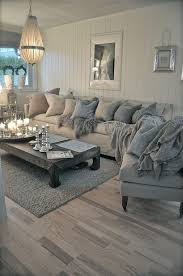 contemporary living room with reclaimed russian oak parsons coffee table pendant light york slope