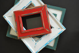 red distressed wood frame distressed wood frames