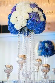 ... Classy Blue And White Centerpieces For Wedding Guide ...