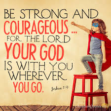 Be Strong And Courageous Quotes Amazing 48 Commands For The Believer ChristianQuotes