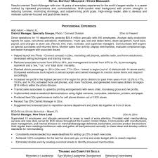 Store Manager Resume Sample Retail Store Manager Resumes Examples Plush Design Retail Manager 70