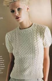 Vogue Knitting Patterns Classy Trendy Vogue Knitting Patterns Aran Cabled Top By Michael Kors Vogue