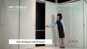 soft closing sliding door hardware