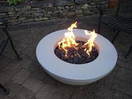 concrete fire pits  modern outdoor fire pit