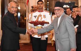 kathmandu 14 march nilamber acharya has presented his letters of credence accrediting him as ambador extraordinary and plenipotentiary of nepal to