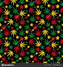 rasta pattern reggae colour ornament