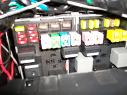 ford transit forum • view topic interior lights this is the fuse box on the passenger side it`s different than the one in the book