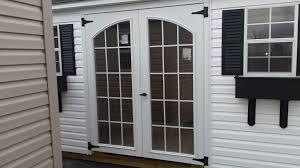 White Door Black Trim In Stock Sheds Summer Sale Homestead Designs